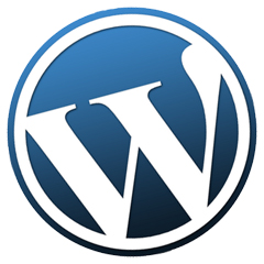 WordPress(ワードプレス) のロゴ